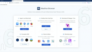 Maxthon For PC